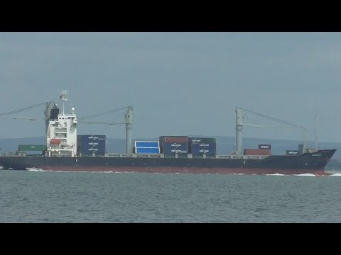 Container Ship on the Solent