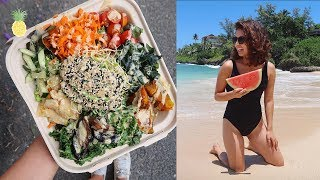 What I Eat In A Day in Hawaii | Healthy Vegan Meals