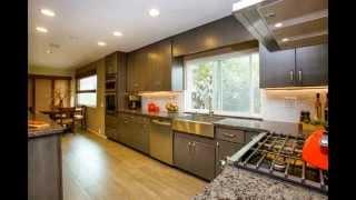 Miramar Kitchen & Bath- Gray Floating Shelf Kitchen (san Diego, Ca)