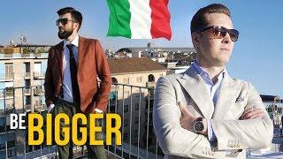 Итальянский стиль. Шоппинг в Италии. Мужской стиль.