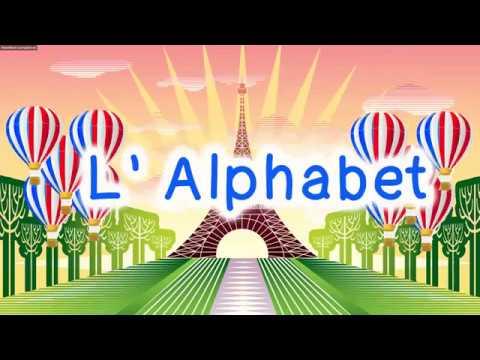 French Alphabet Song   L'alphabet Français   Sing Along