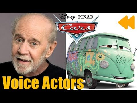 Cars Voice Actors And Characters Youtube