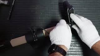 Ремонт тормозов детской коляски - замена тросиков