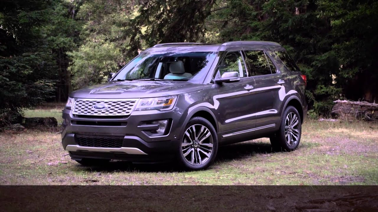 2016 ford explorer platinum review commercial new ford suv carjam tv 4k 2015 youtube. Black Bedroom Furniture Sets. Home Design Ideas