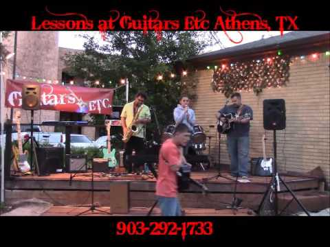 Gracie Herron at Guitars Etc Athens TX Burning House by Cam Cover