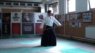 zengo no ido kaeshi tsuki [TUTORIAL] Aikido advanced weapon technique