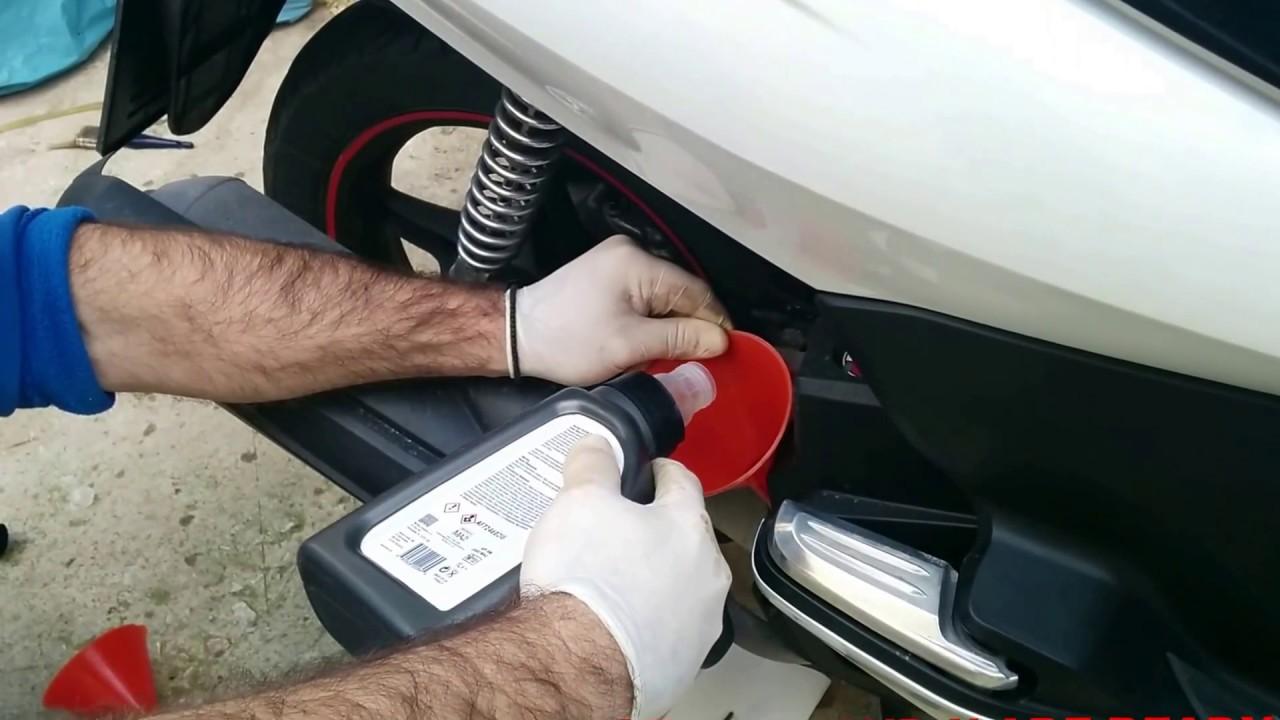 Honda Pcx 150 >> How to change HONDA PCX 125 150 OIL - YouTube