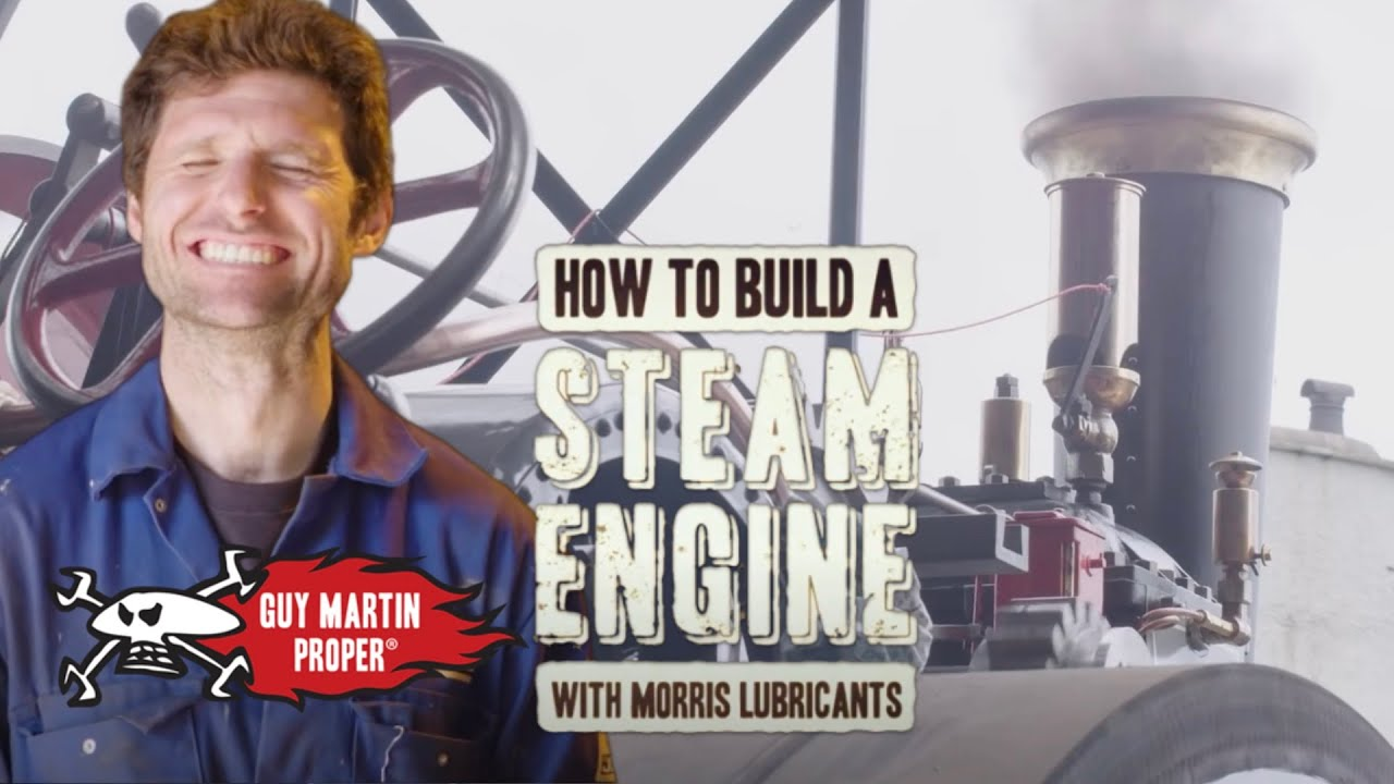 How to Build a Steam Engine with Guy Martin - EP1 The Challenge