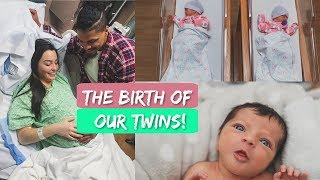 Emotional Live Birth of Twins  | Induced at 38 Weeks