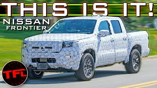 Spied! 2021 Nissan Frontier Breaks Cover: Here's Everything You Need to Know!