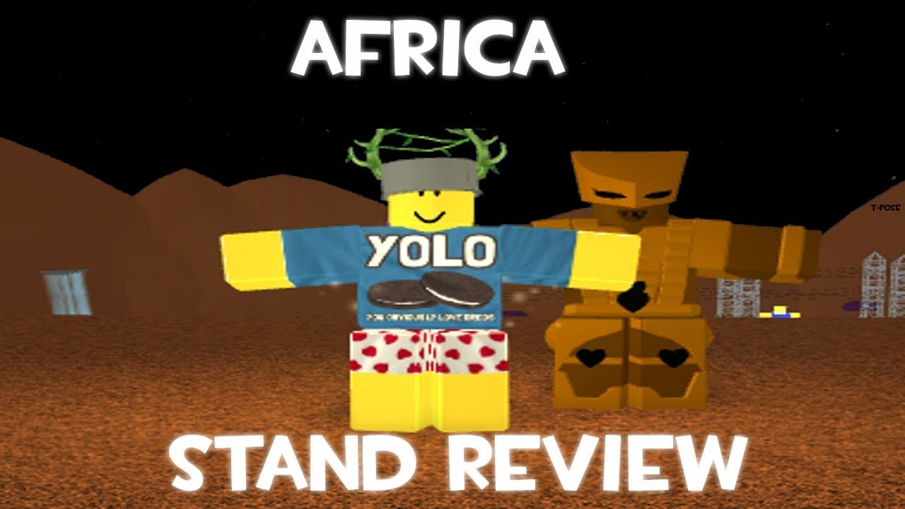 Project Jojo Stand Review: Africa [OUTDATED]