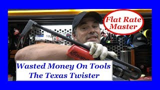 Wasted Money On Tools The Texas Twister