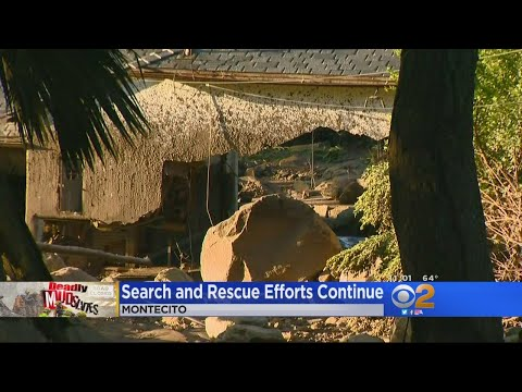 Historic Homes Among Those Destroyed By Mud Slide In Montecito