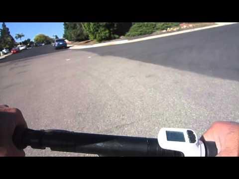e-Joe Momas E-scooter---Belt Cam Ride
