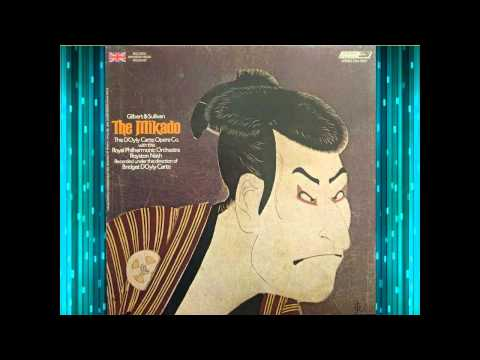 The Mikado (Act 2) - D'Oyly Carte (1973)  - Nash - Reed - G&S