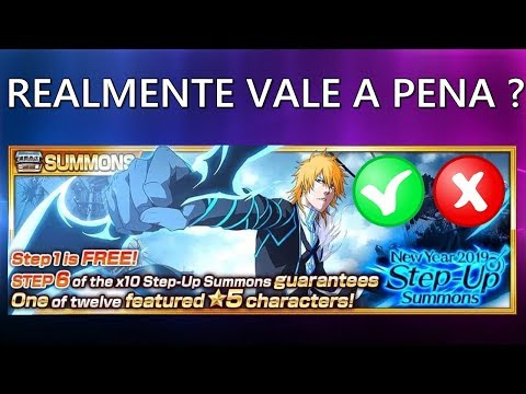 Bleach Brave Souls - Step Up Realmente Vale a Pena ? Analise