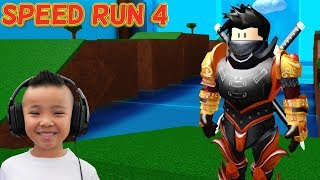 SPEED RUN 4 Roblox Fun Game With CKN Gaming