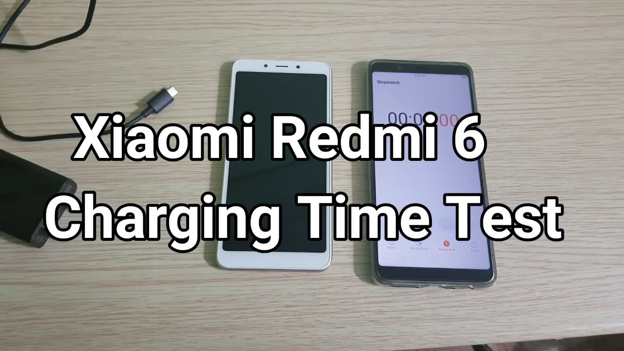 size 40 228cc 87f28 Xiaomi Redmi 6 Charging Time Test | Does it support fast charging?