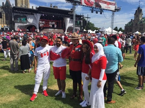Canada Day for a Syrian Refugee Family