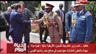 فيديو.. دبلوماسي سابق يكشف أهمية زيارة السيسي لكينيا
