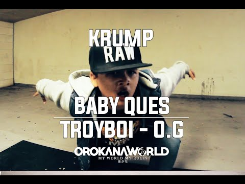 TroyBoi - O.G #DanceOnTrap | Boy  Ques - Krump Freestyle |  Orokana World