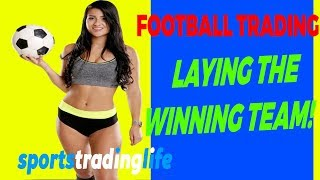 Football Trading Strategy - Lay The Winning Team And Profit! ️⚽️