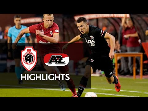 Highlights Royal Antwerp FC - AZ | Europa League