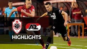 Highlights Royal Antwerp FC - AZ | Europa League