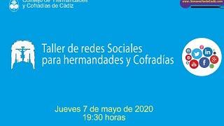Taller redes sociales para hermandades y cofradías de Cádiz