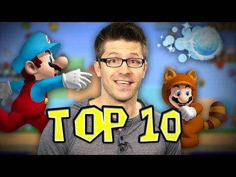 Top 10 Super Mario Power-Ups!