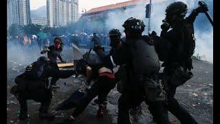 香港风云(2019年10月3日)宵禁令、蒙面法能为香港暴力降温?