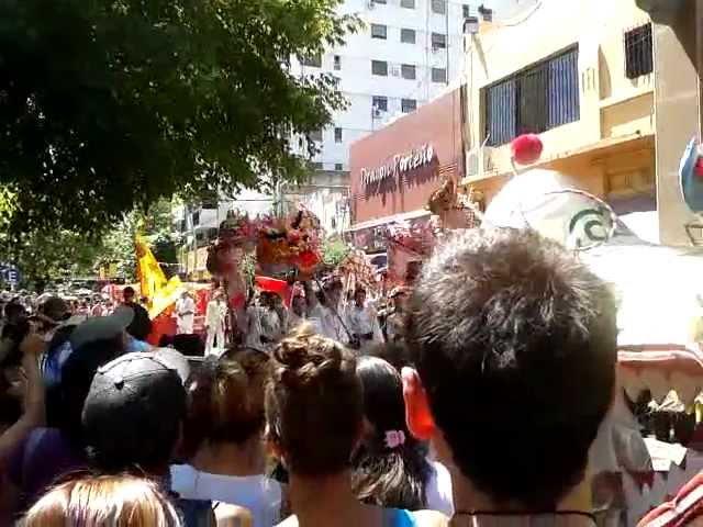 Festejo del año nuevo chino 4711 Año de la Serpiente en Barracas de Belgrano, Buenos Aires 2013