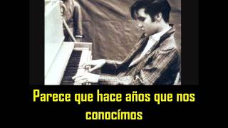 ELVIS PRESLEY - Happy happy birthday, baby ( con subtitulos en español )  BEST SOUND