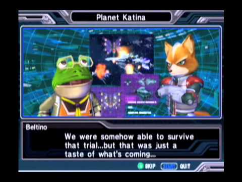 Starfox Assault: All Cutscenes Part I