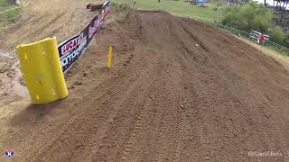 Take a full moto ride with Ryan Hughes as he races the 125 All Star...