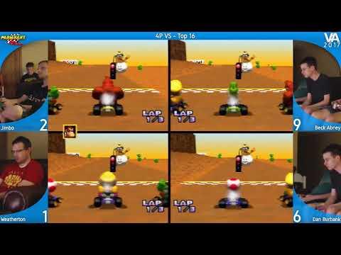 Mario Kart 64 Tournament - VA 2017 Top 16