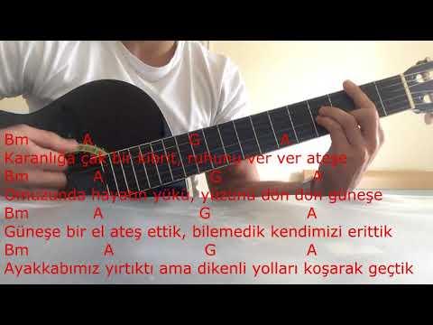 Çağatay Akman - Bizim Hikaye gitar dersi