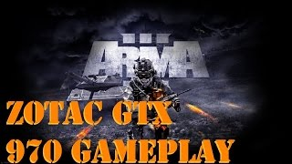 ARMA 3 Gameplay Max Settings GTX 970 (Commentary)