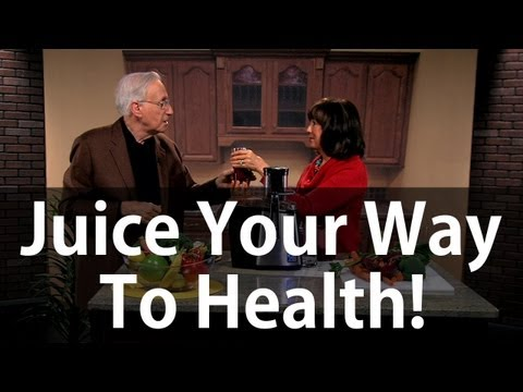 How To Juice Your Way to Health! | It's Supernatural with Sid Roth | Cherie Calbom