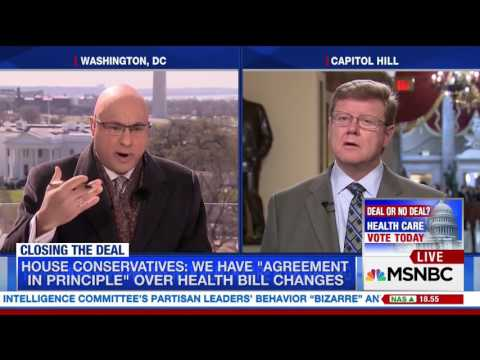 Rep. Amodei Talks With MSNBC's Ali Velshi About Where he Stands on AHCA