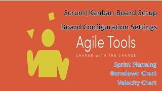 #atlassian#jira#AgileTools JIRA Scrum | Kanban Board Setup | Board Settings [ Complete Tutorial ]