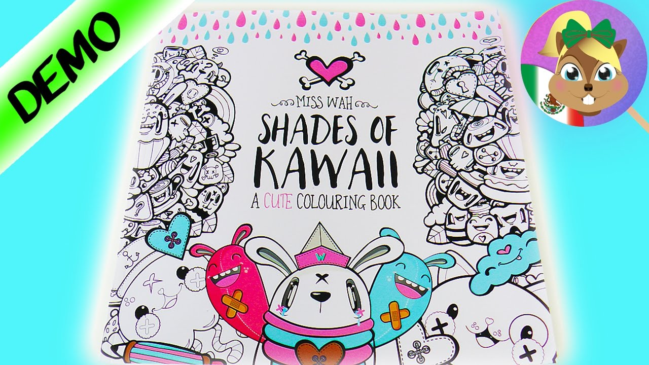 Harley Quinn Kawaii Para Colorear: Libro Para Colorear Al Estilo KAWAII