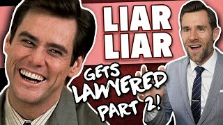 Real Lawyer Reacts to Liar Liar (Part 2)(The Divorce Trial)
