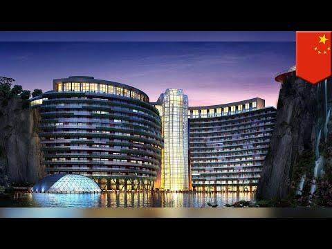 World's first underground hotel to open in Shanghai, China - TomoNews