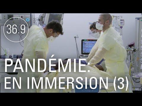 COVID-19: Malade et isolé à l'hôpital