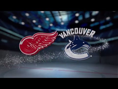 Detroit Red Wings vs Vancouver Canucks - November 06, 2017 | Game Highlights | NHL 2017/18. Обзор