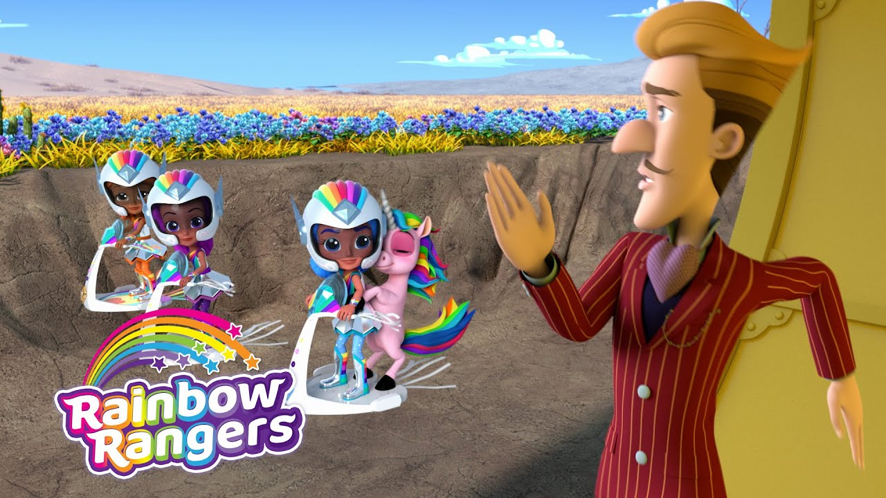 Preston Gets Booby Trapped! | Rainbow Rangers Episode Clip