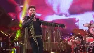 TALC HD - Queen + Adam Lambert - Killer Queen & Somebody to Love - IZOD Center - NJ