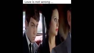 love is not wrong