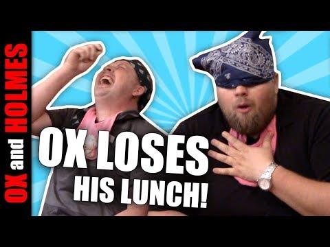 Baby Food Challenge - Man Eats Cat Food Prank - Most Violent Dry Heaving Ever